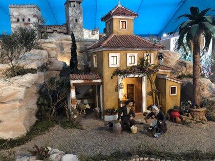 El Belén Municipal, réplica del Nacimiento barroco de Salzillo, abrirá sus puertas este sábado en el Palacio Episcopal