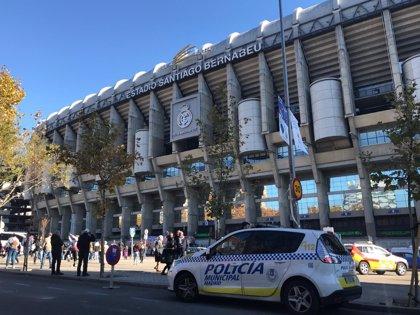 Policía Nacional y Municipal ya trabajan a los pies del Bernabeu para garantizar la seguridad en la Copa Libertadores