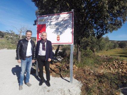 Concluyen las obras de mejora del camino 'Las Asperillas' en La Granjuela (Córdoba)