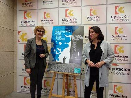 La Diputación de Córdoba acogerá unas jornadas de análisis sobre la activación social del patrimonio cultural