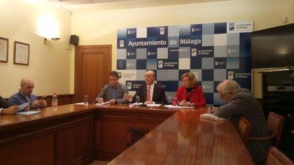 El Ayuntamiento de Málaga pide la suspensión cautelar de las obras del metro al Hospital Civil