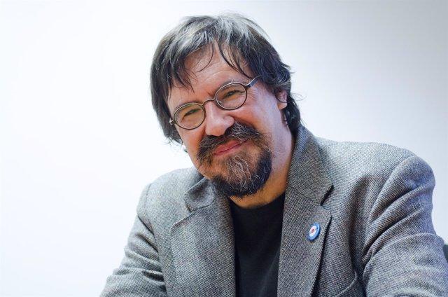 El escritor Iban Zaldua