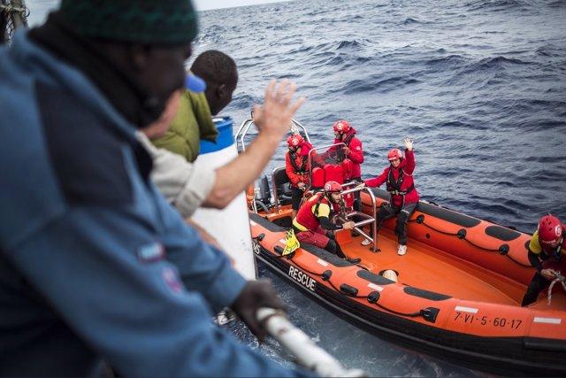 Pesquero 'Nuestra Señora del Loreto' en Malta