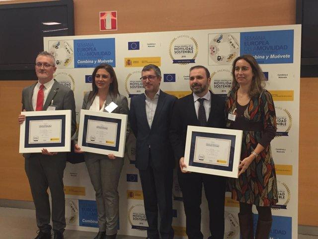 Emasesa recibe la medalla de oro de la Semana Española de Movilidad Sotenible