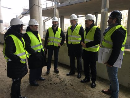 Las obras del Edificio Fontán de la Cidade da Cultura estarán a final de 2020, para que funcione en el Xacobeo
