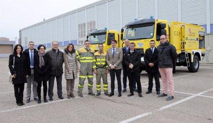 Zamora suma dos nuevas autobombas para la extinción de incendios