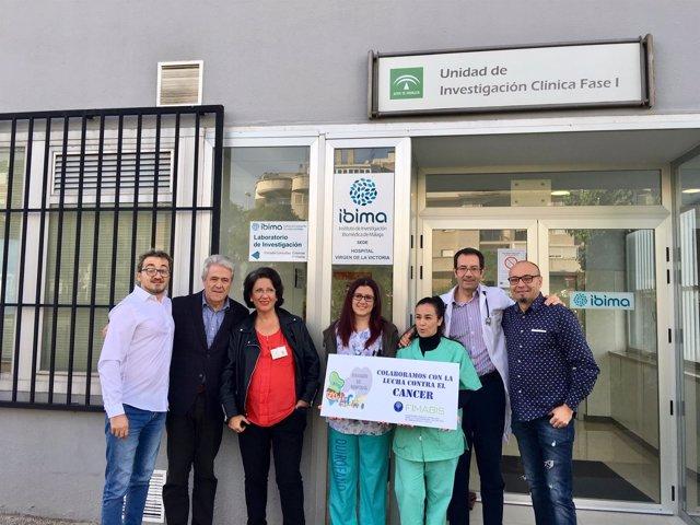 Donación de Asociación Payasos de Hospital a Ibima