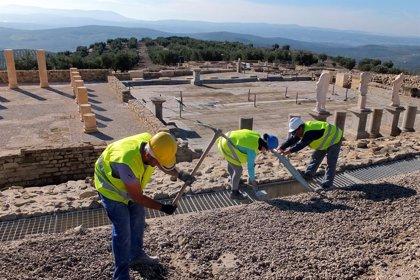 El yacimiento arqueológico de Torreparedones en Baena (Córdoba) registra más de 5.000 visitas en 2018