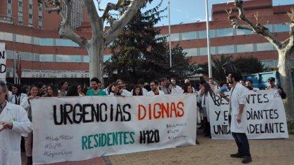 Desconvocada la huelga de residentes de Urgencias del 12 de Octubre tras alcanzar un acuerdo