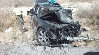 El accidente con tres víctimas de La Luisiana, entre los diez más graves en la provincia de Sevilla desde 2010