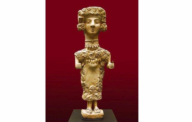 Dama de Ibiza, silgo IIII aC.