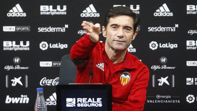 Marcelino García, entrenador del Valencia