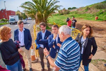 Comienzan las obras de mejora en la carretera de Llano del Moro