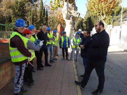 Arrancan las obras de los tres planes del PFEA en Huércal-Overa, con 650.000 euros de inversión