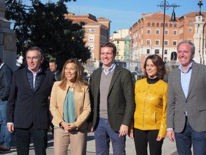 """Beamonte (PP) asegura que PSOE y Podemos son la izquierda """"nefasta"""""""