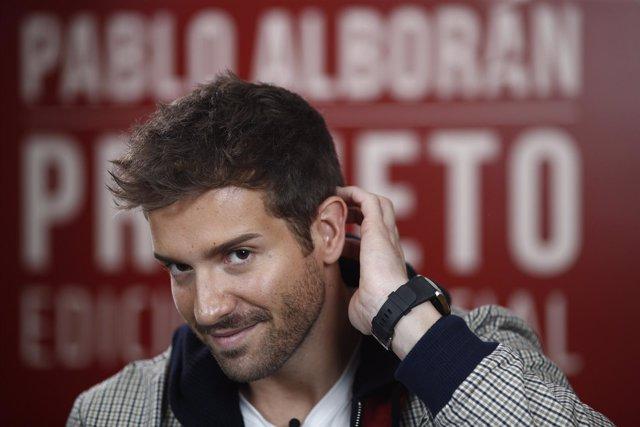 Europa Press entrevista a Pablo Alborán