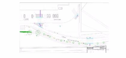 El Ayuntamiento de València aprueba el proyecto de mejora del acceso peatonal de la estación Font de Sant Lluís a La Fe