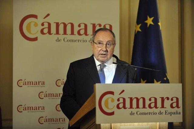El president de la Cambra de Comerç d'Espanya, José Luis Bonet