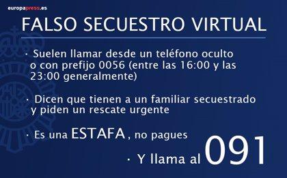 Alertan sobre falsos secuestros virtuales, cuatro en Valladolid en la última semana