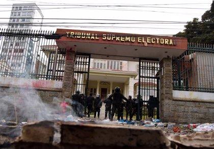 """Evo Morales condena a la """"oposición derechista"""" por los enfrentamientos con las autoridades"""