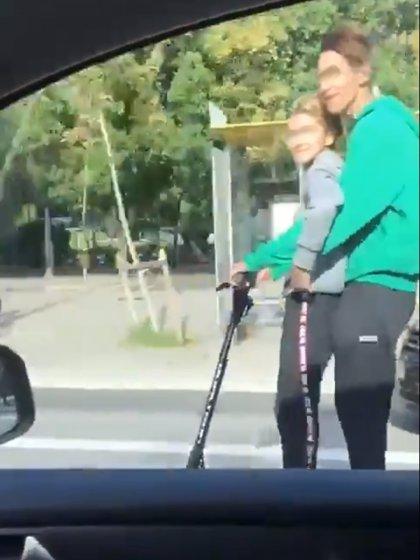 Multen amb 1.000 euros el conductor que va circular amb un patinet elèctric per la Diagonal