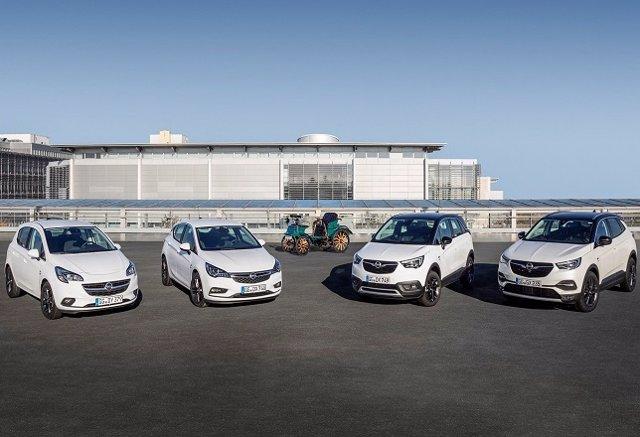 Modelos edición 120 años de Opel