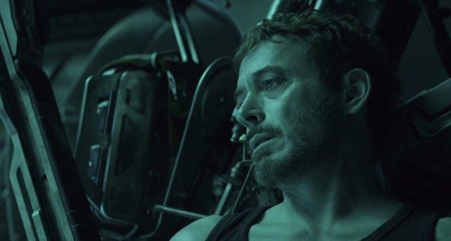 Tony Stark en Vengadores: EndGame