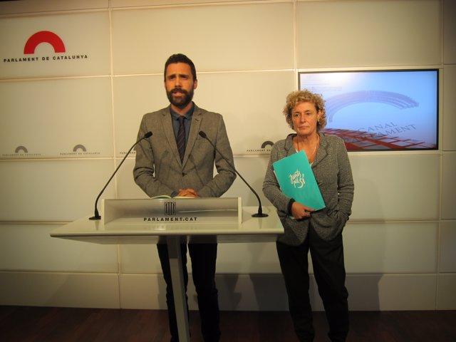 Diputats de JxSí R.Torrent i M.Casamitjana