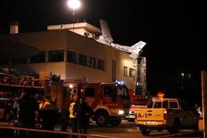 AMPLIACIÓ:Almenys dos morts en estavellar-se una avioneta a Badia del Vallès