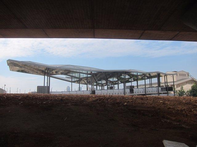 El nou edifici del Mercat d'Els Encants de Barcelona