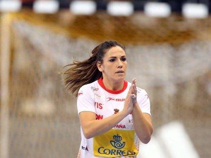 """Carmen Martín: """"Era un partido muy mental y nos ha costado mucho el principio"""""""