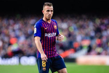 Arthur no llega al derbi contra el Espanyol