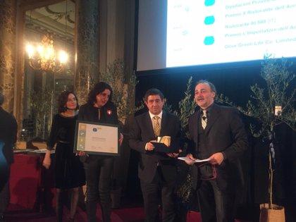 Diputación recibe el Premio Cristina Tiliacos por su trabajo de promoción del aceite