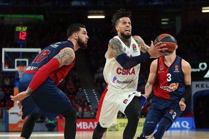 El Baskonia luce agonía para ganar al potente CSKA
