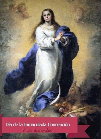 8 de diciembre: Día de la Inmaculada Concepción o Virgen María, ¿cuál es el motivo de esta celebración?