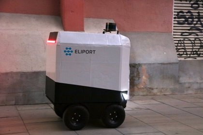 """La 'start-up' Eliport dissenya un robot d'entrega de paquets a domicili per """"solucionar el problema de l'última milla"""""""
