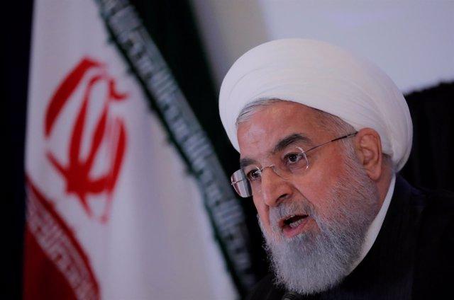 El presidente de Irán, Hasán Rohani