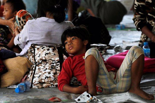 Desplazados kachin en Birmania