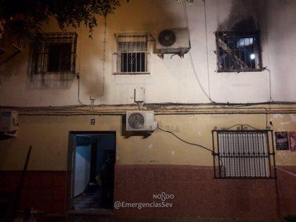 El 112 contabiliza 952 incendios en vivienda de enero a noviembre de este año en Sevilla, un 14,8% menos que en 2017