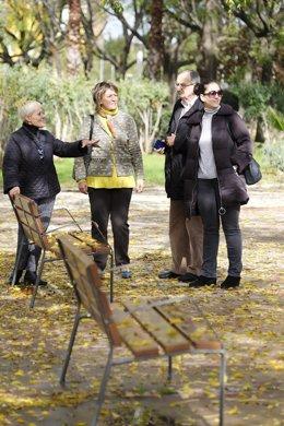 Reurbanización del entorno del parque Santa Juana Jugán de Sevilla