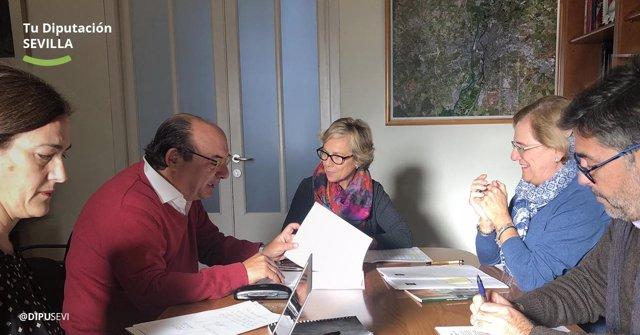 Jurado del Premio Nuestra América que convoca la Diputación de Sevilla