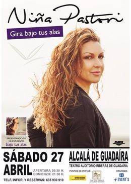 Concierto de Niña Pastori en el Auditorio de Alcalá