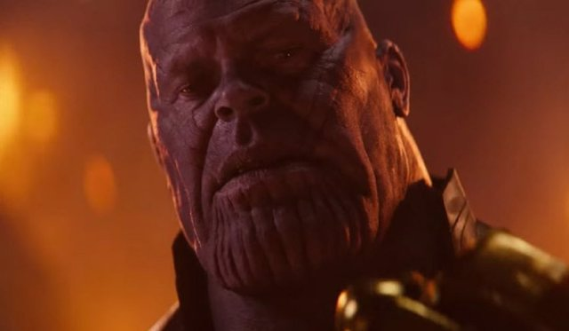 Thanos (Josh Brolin) en Vengadores: Infinity War