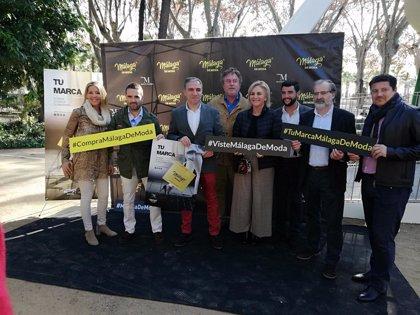 La marca Málaga de Moda refuerza sus acciones promocionales durante la campaña de Navidad