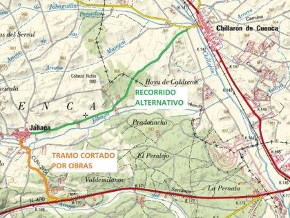 La mejora de la carretera de acceso a Jábaga obligará a cortar el tráfico durante doce días