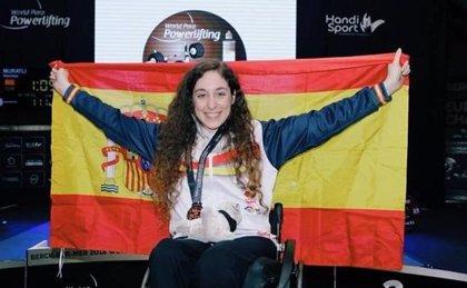 La levantadora paralímpica extremeña Loida Zabala cierra la temporada con el oro en el Open de las Américas en Colombia