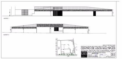 Diputación de Almería licita las obras del centro multiusos de La Venta del Viso (La Mojonera)