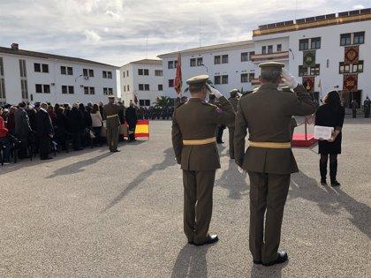 El Acuartelamiento Jaime II celebra la patrona de la Infantería recordando a las víctimas de las inundaciones
