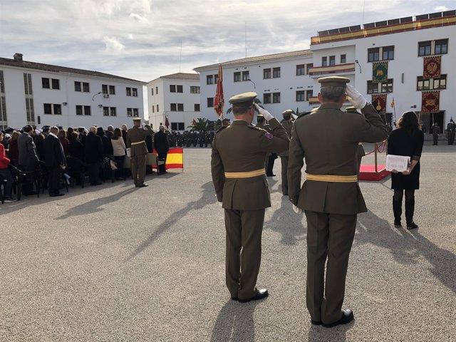 Celebración de la patrona de Infantería