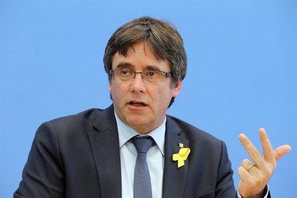 """Puigdemont apel·la a la """"unitat"""" de l'independentisme a la presentació del Consell per la República a Brussel·les"""